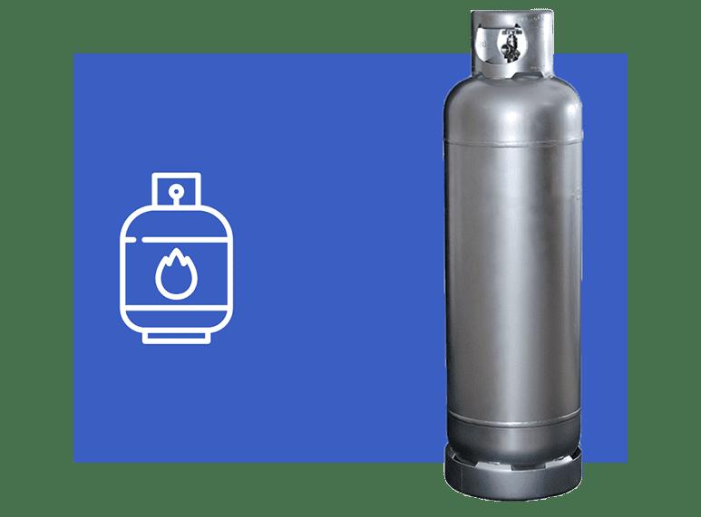 entrega de botijão de gás p45 em sorocaba